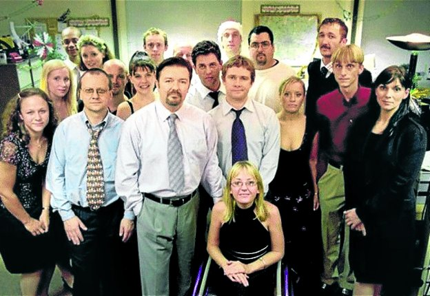El equipo al completo de 'The Office'.