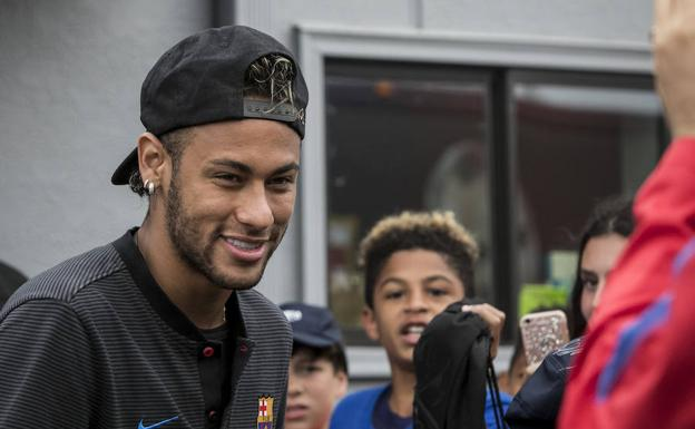 Neymar. /Edu Bayer (Efe)