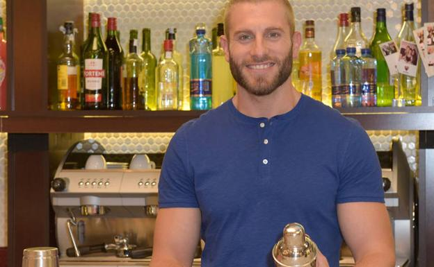 Matías Roure, coctelero de 'First Dates'./