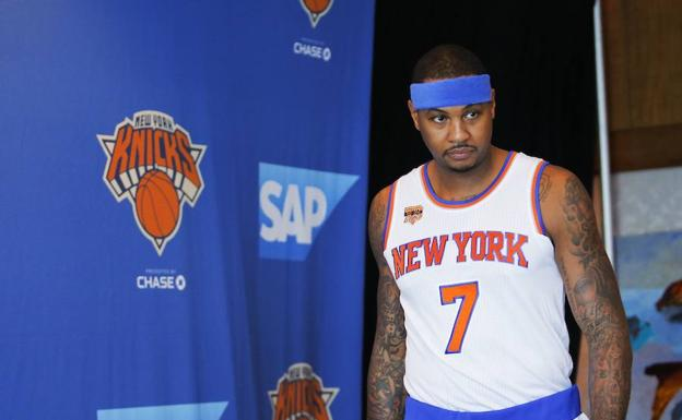 Carmelo Anthony./Afp