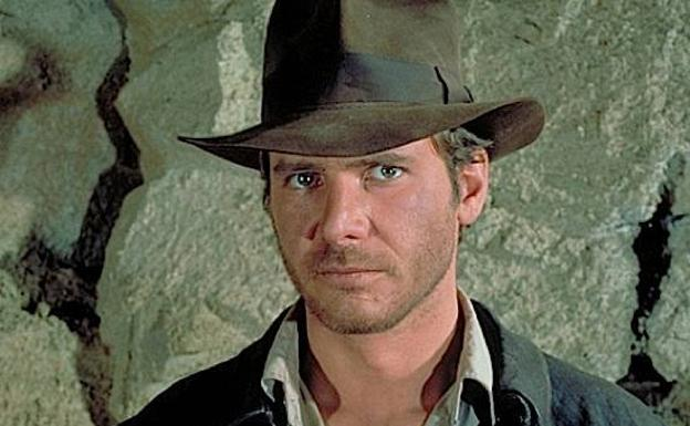 Harrison Ford en su papel de Indiana Jones.