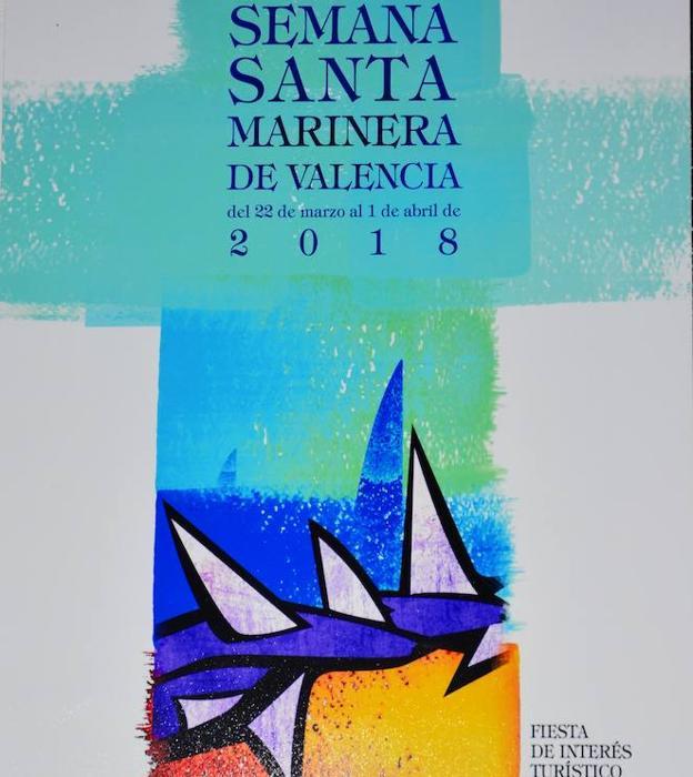 Cartel ganador, 'Es vela, espina', de César Núñez Álvarez./