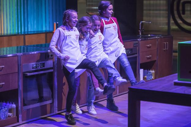 Los finalistas de 'MasterChef Junior'./