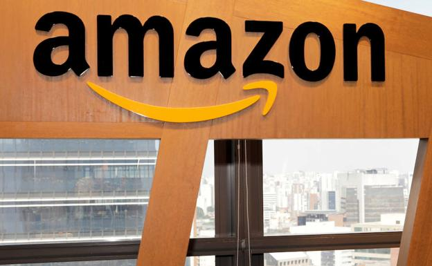 Sede de Amazon en Brasil. /Reuters