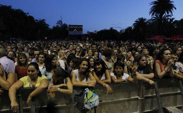 Conciertos de viveros en la feria de julio de valencia for Viveros zaragoza