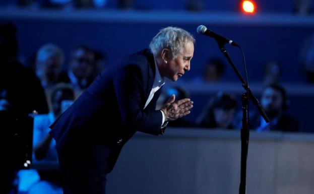 Paul Simon./Reuters