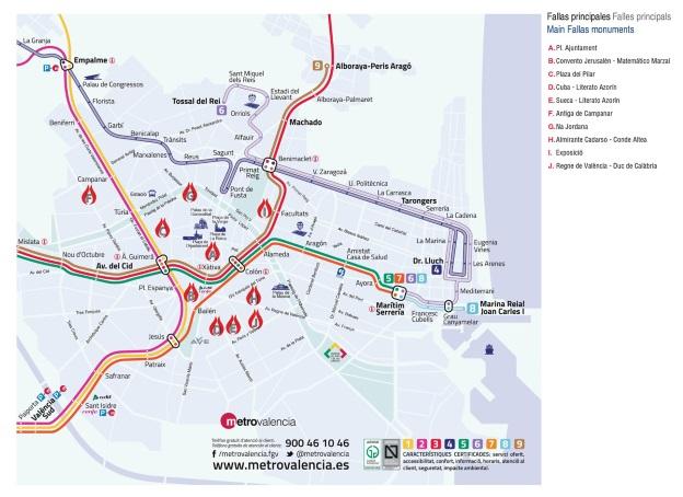 Mapa Metro Valencia 2015.Metro Valencia Mapa Detraiteurvannederland