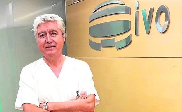 Dr. Arribas, jefe de Servicio de Oncología Radioterápica del IVO. /LP