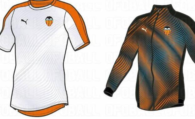 solo Clavijas Algún día  Se filtra la camiseta que Puma diseña para el Valencia CF del año ...