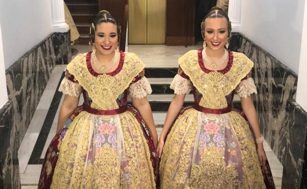 1932aa52ac Los trajes de la Corte de Honor de la fallera mayor de Valencia 2019 al  detalle