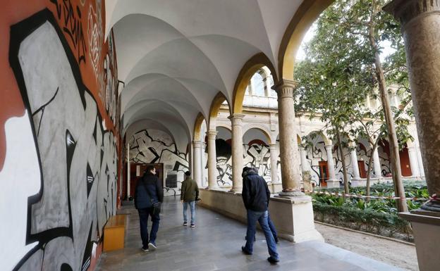 Resultado de imagen de claustro carmen graffiti