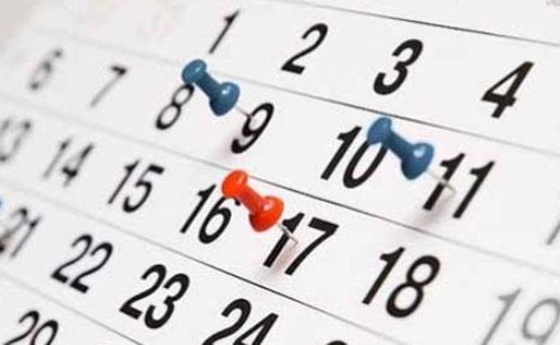 Semana Calendario.El Calendario Laboral En Semana Santa 2019 Que Dias Se Trabaja Y
