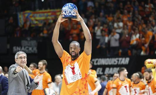 Will recibe el trofeo de MVP de la final.