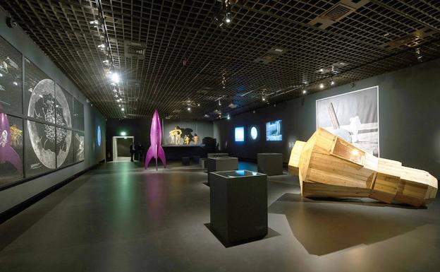 60121bc5962b Exposición en el Grand Palais de París sobre la Luna: La materia de ...