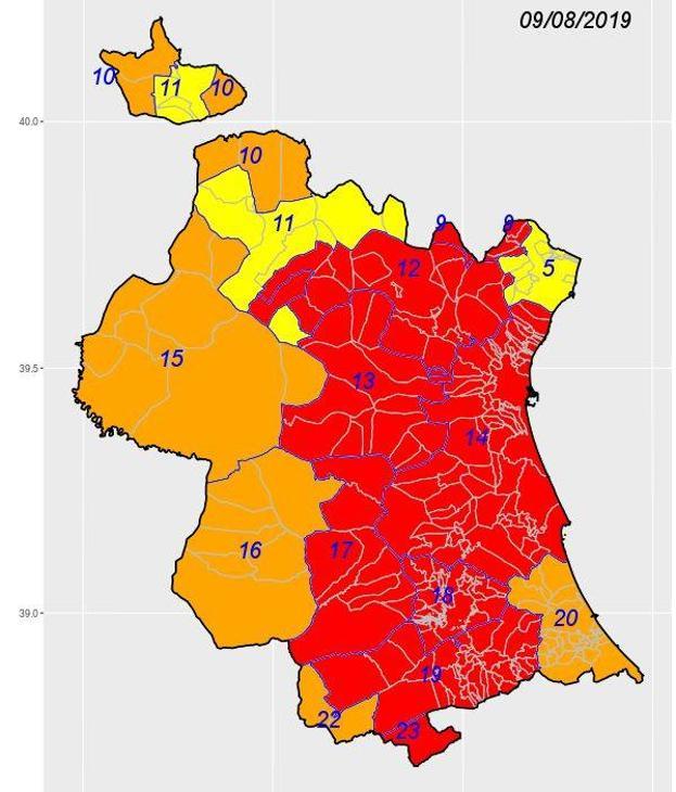 Mapa Municipios De Valencia.El Tiempo En Valencia Todos Los Municipios Valencianos Que
