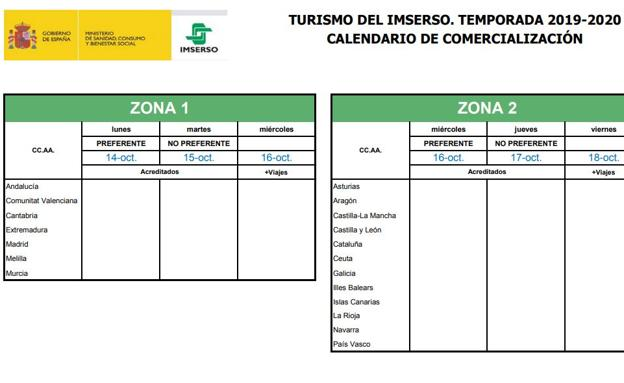 moda de lujo nuevo diseño salida de fábrica Los viajes del Imserso: precios, destinos y fechas en 2019 y ...