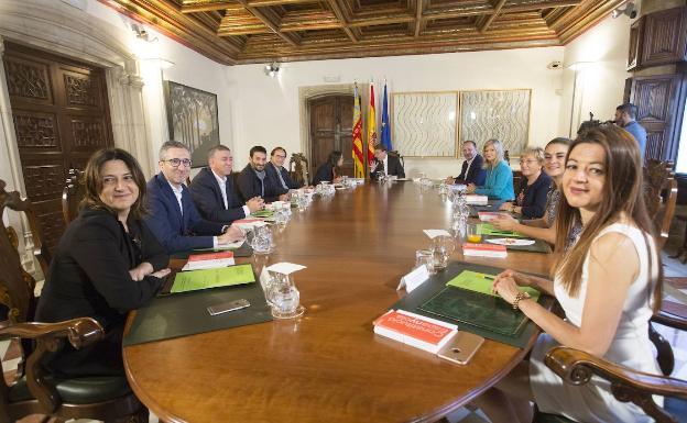 Reunión del Gobierno valenciano/Damián Torres