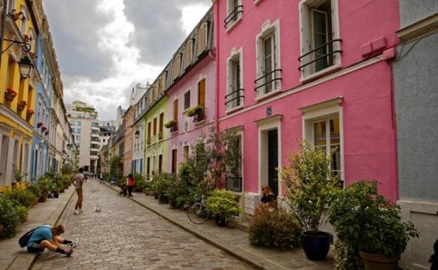 Calle Rue Crémieux.