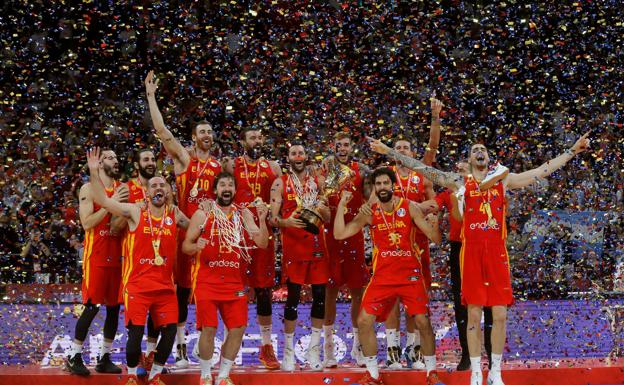 Hazaña mundial de la selección española de baloncesto ...