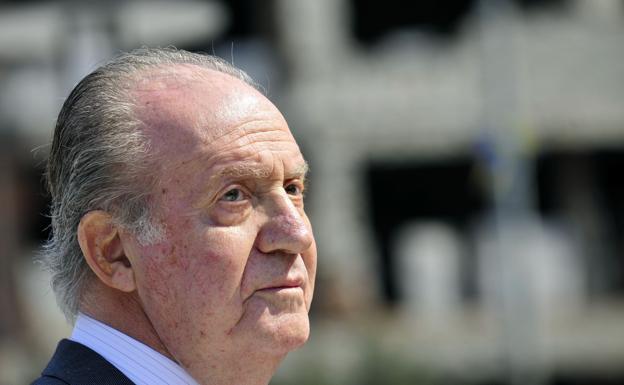Don Juan Carlos se reunió con Corinna hace un año