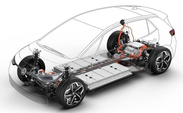 El acuerdo Ford-VW implica el uso común de la plataforma eléctrica del VW ID3.