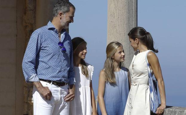 Imagen de la Familia Real del pasado verano en Mallorca.