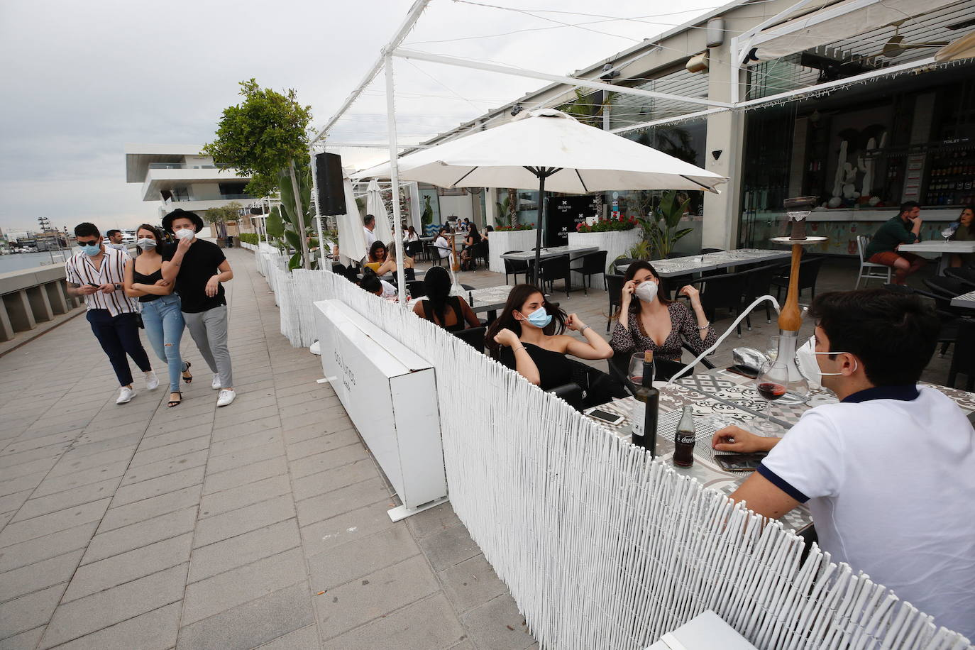 Valencia City Council conveys its concern to the residents and promises consensus with the nightlife