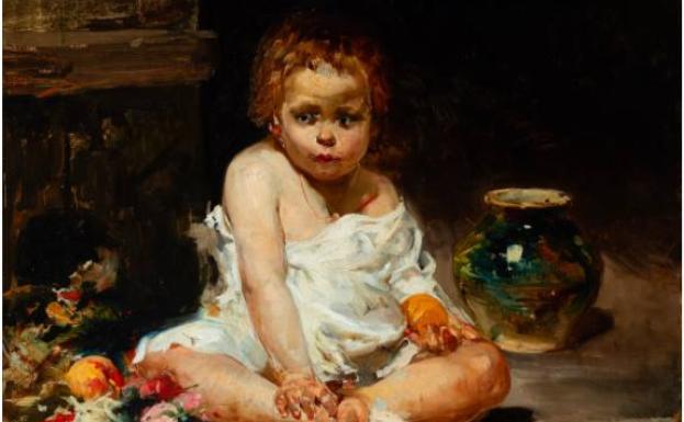 'El niño de la granada', una pieza inédita, no encontró comprador.
