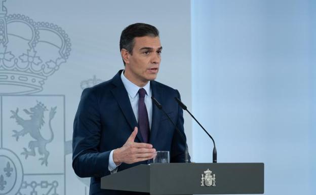 Sánchez decretará mañana el estado de alarma