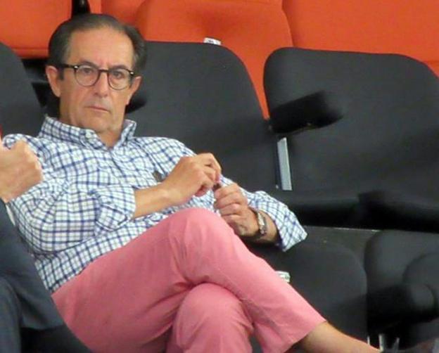 El exjefe de gabinete. Juan Francisco García fue la mano derecha de Eduardo Zaplana durante su etapa en la Generalitat. lp/