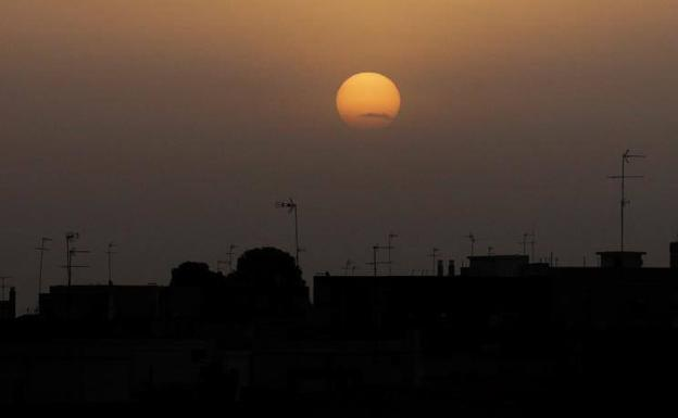 Aemet prevé nubes de polvo flotantes y temperaturas de hasta 31 ° C en la Comunidad Valenciana