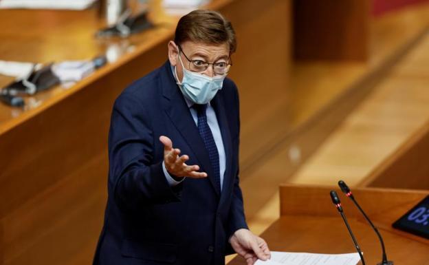 El presidente Ximo Puig este jueves./EFE