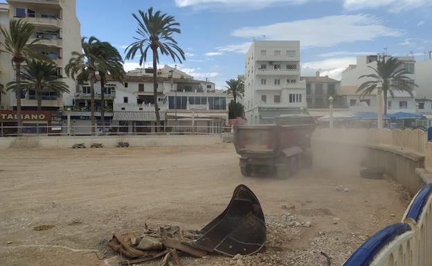 La cercanía de las obras ha ahuyentado a los turistas